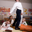 Stock Photo: Sturdy in classroom