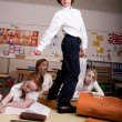 Sturdy in the classroom — Stock Photo