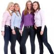Group of girlfriends — Stock Photo #12653982