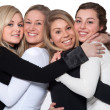 Royalty-Free Stock Photo: Happy 4 woman hug