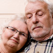 Loving at old age — Stock Photo