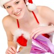 christmas elf — Stock Photo