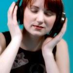 Listening to my music — Stock Photo #12695586