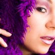 Purple and glamour — Stock fotografie