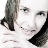 Modelo de beleza bonito — Fotografia Stock