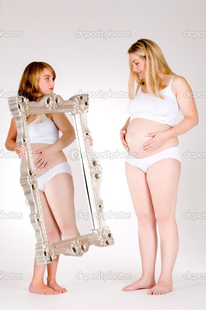 Бесплатно голые беременные фото