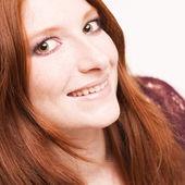 Mesmerising redhead — Stock Photo