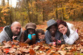 Multiracial family — Stock Photo