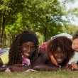 Multi ethnic children — Stock Photo