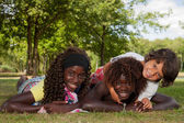 Multi ethnic children — Stock fotografie