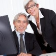 Senior partners at a business meeting — Stock Photo #12720004