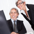 Senior partners at a business meeting — Stock Photo #12720005