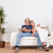 Happy smiling senior couple — Stock Photo #12720161