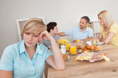 Excluded from the family circle — Stock Photo