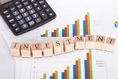 Finance and statistics — Stock Photo