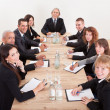 Stock Photo: Portrait Of A Serious Business Men And Women