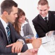 Stock Photo: Businesspeople In Meeting