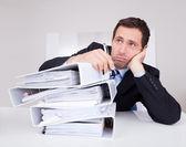 Znuděného podnikatele — Stock fotografie