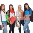 Four female students — Stock Photo #13652231