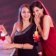 Woman friends partying - Stock Photo