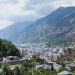 View of the Andorra la Vella, Andorra — Stock Photo