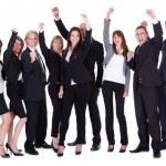 企业高管或合作伙伴的产品阵容 — 图库照片