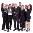 Lineup of business executives or partners — Stock Photo #15334831
