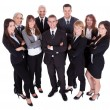 Lineup of business executives or partners — Stock Photo #15334835