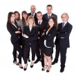 Lineup of business executives or partners — Stock Photo #15334839