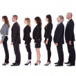 Line of business in profile - Stock Photo