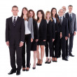 Group of confident business — Stock Photo #15334859
