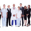 Hospital staff group — Stock Photo #15334907