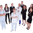 Hospital staff group — Stockfoto