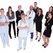 Stock Photo: Hospital staff group