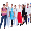 Group of representing diverse professions - Foto de Stock