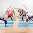 Group of doing aerobics — Stock Photo #15335153