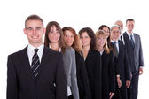 Group of confident business — Stock Photo
