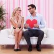 pareja romántica — Foto de Stock