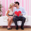 Romantic couple — Stock Photo #17392051
