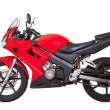Red motorcycle — Stock Photo #18597101