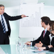 In-house business training — Stock Photo