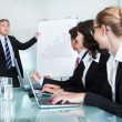 Stock Photo: In-house business training