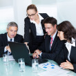 Business team have a meeting - Stock Photo