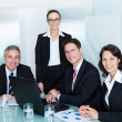 Business team have a meeting — Stock Photo