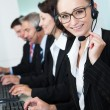 Call centre operators — Stock Photo #18597431