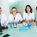 ambulantní nebo technického personálu v laboratoři — Stock fotografie