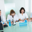 Paramedical or technical staff in a lab — Stock Photo