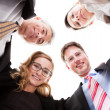 Business executives looking down — Stock Photo #18598275