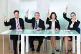 Group of employment recruitment officers — Stock Photo