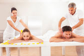 Masseurs teruggeven massages — Stockfoto